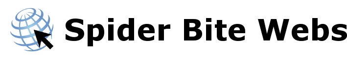 Spider Bite Webs logo